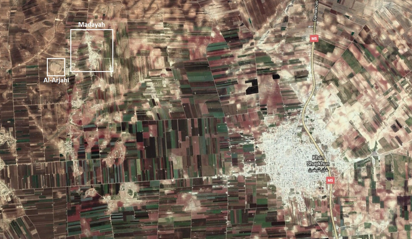 Syrian Army Advances Northwest Of Khan Shaykhun, Captures New Town & Hilltop