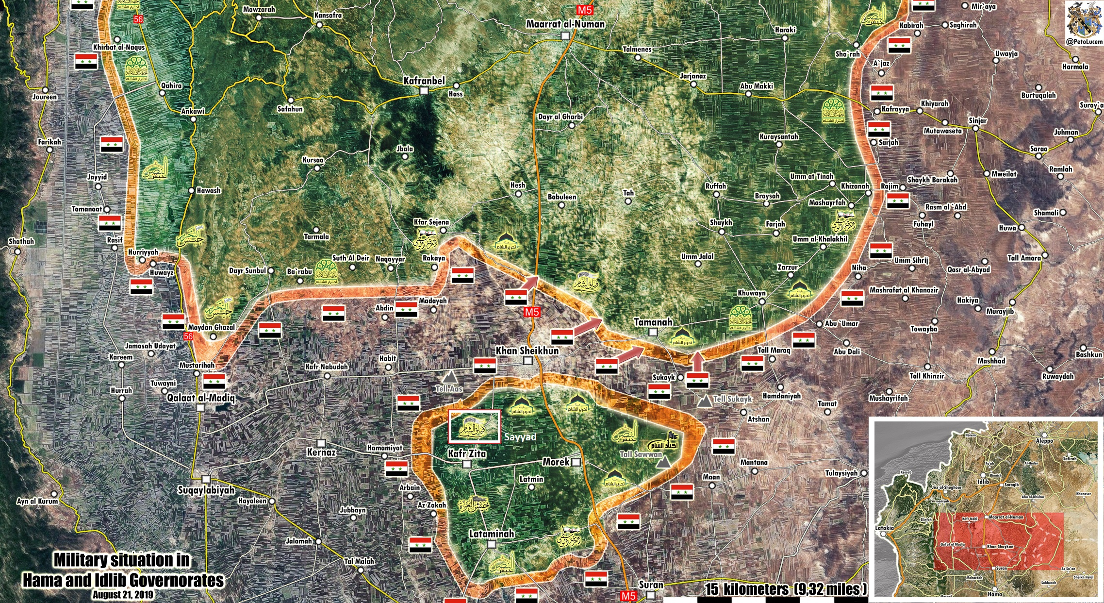 Syrian Army Advances In Northern Hama Enclave, Captures Village