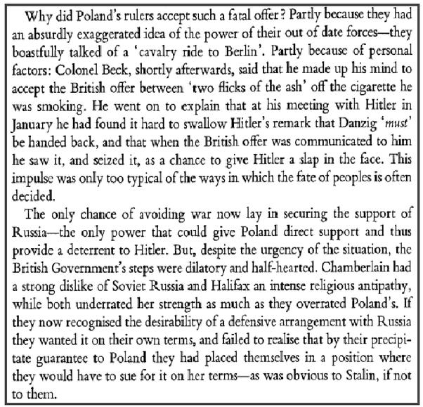 Molotov-Ribbentrop Pact And History Rewriting