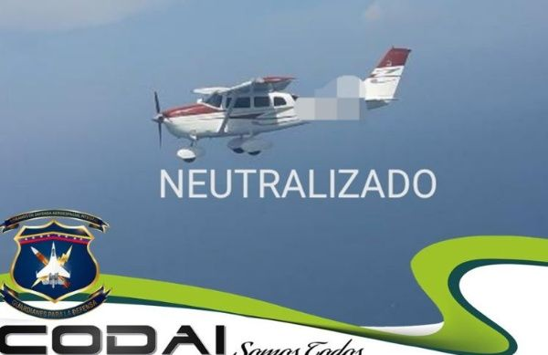 Two Colombian Drug Planes Intercepted And Captured In Venezuelan Airspace