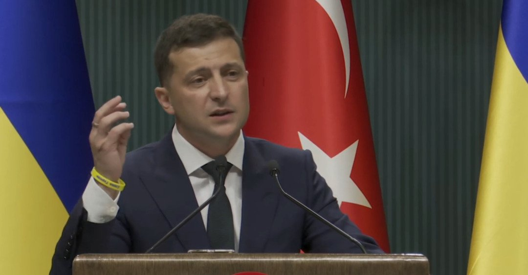 Erdogan Explains To Zelensky That International Issues Are Not Solved by Wearing Bracelets, Who Knew?