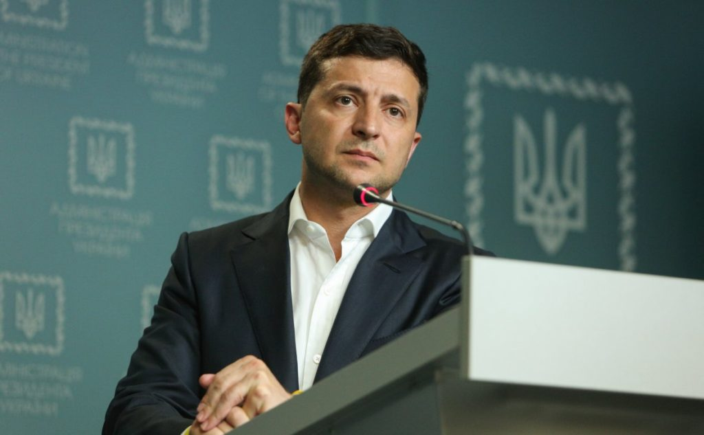 Zelensky Claims Foreign Ministry Tried To Prevent His First Phone Call With Putin