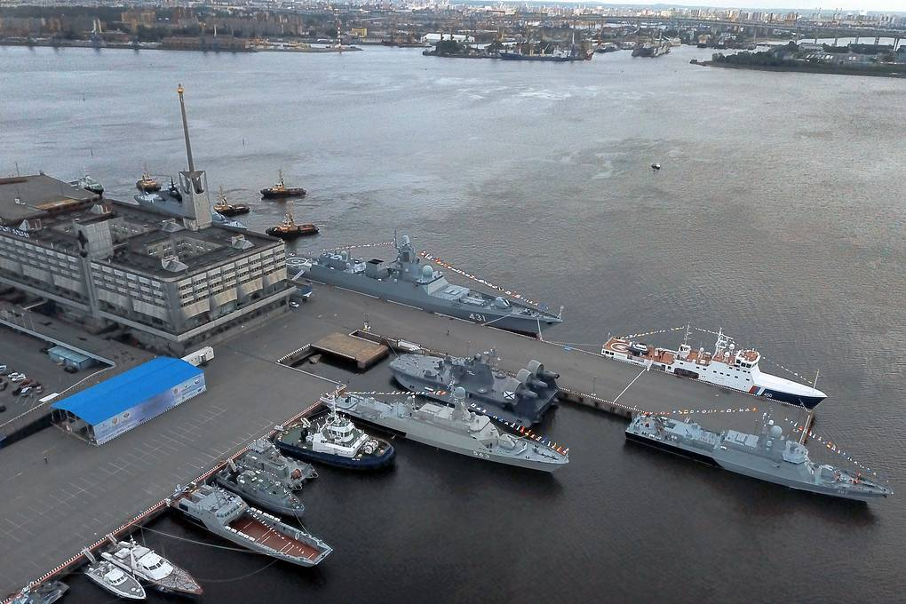 Future And Present Of Russian Navy  What Was Shown At 2019