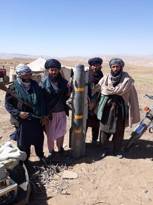 In Photos: Taliban Claims It Shot Down U.S. Unmanned Combat Aerial Vehicle