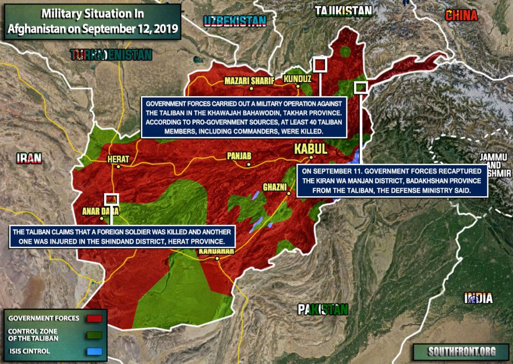 Trump Says U.S. Hitting Taliban Harder Than Ever
