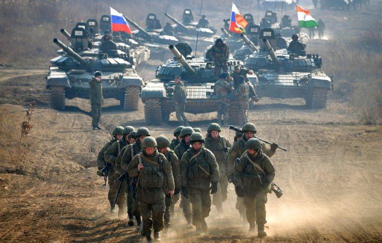 """Russian Armed Forces Prepare For """"New Type Of War"""""""