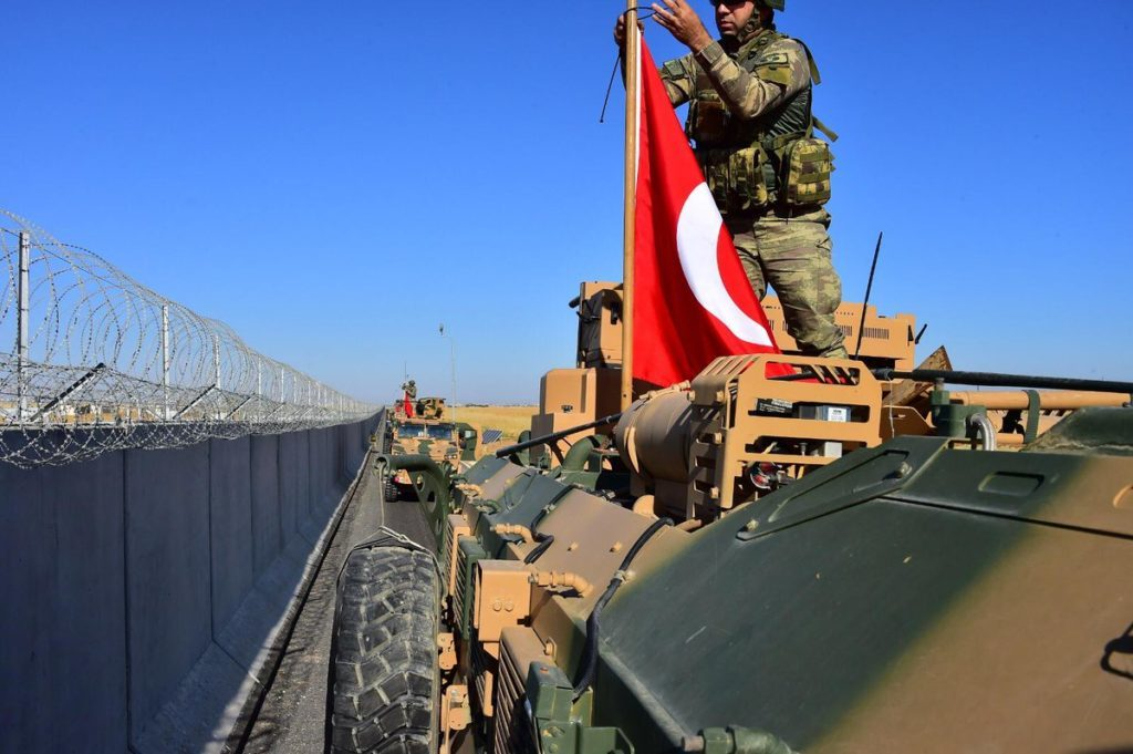 Turkish Forces Entered Northeastern Syria For First Joint Patrol With U.S. Troops (Photos, Video)