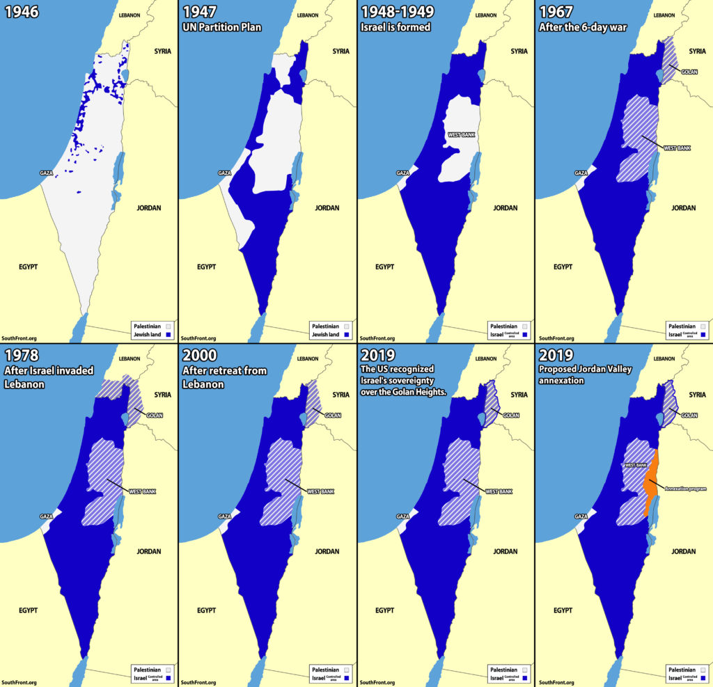 Map Update: Israel's Territorial Expansion