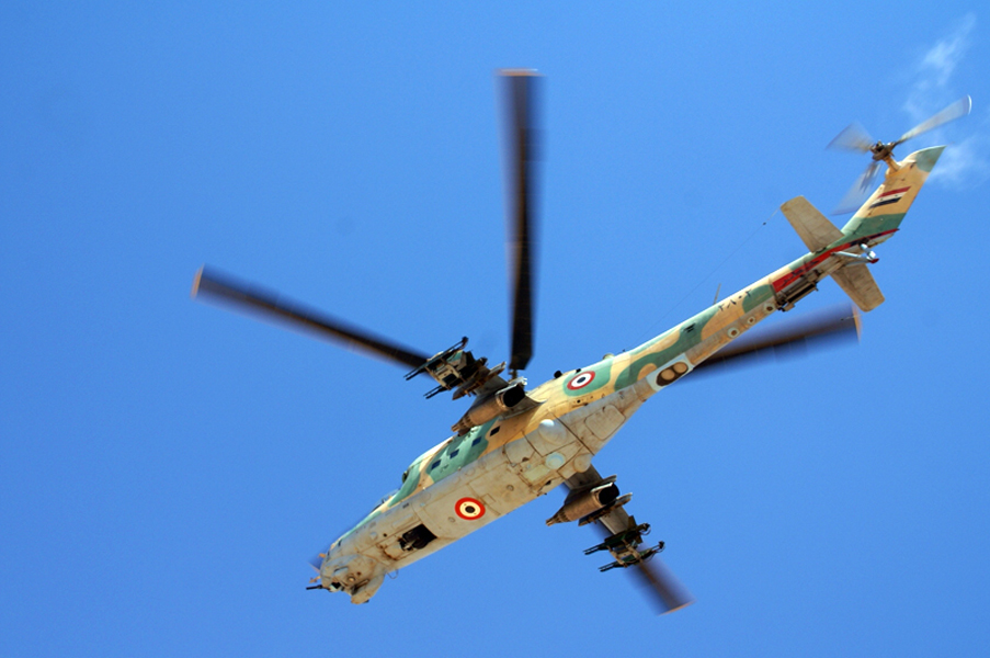 HTS Says Its Forces Hit Syrian Helicopter Over Northern Lattakia