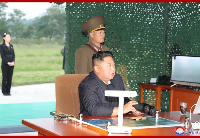 North Korea Carries Out Multiple Rocket Launcher Test, 2nd One In Two Weeks (Photographs)