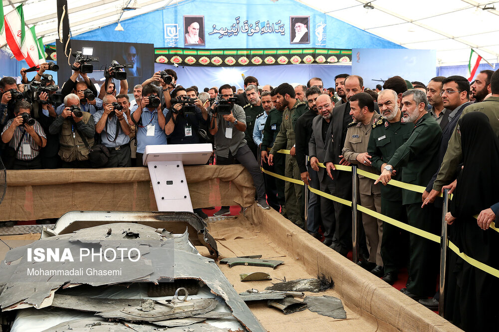 IRGC Showcases Downed and Captured Western Drones (Video, Photographs)