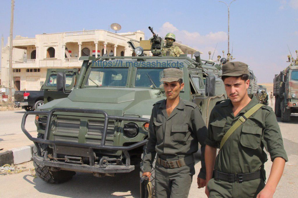 In Photos: Russian Troops In Syria's Khan Shaykhun