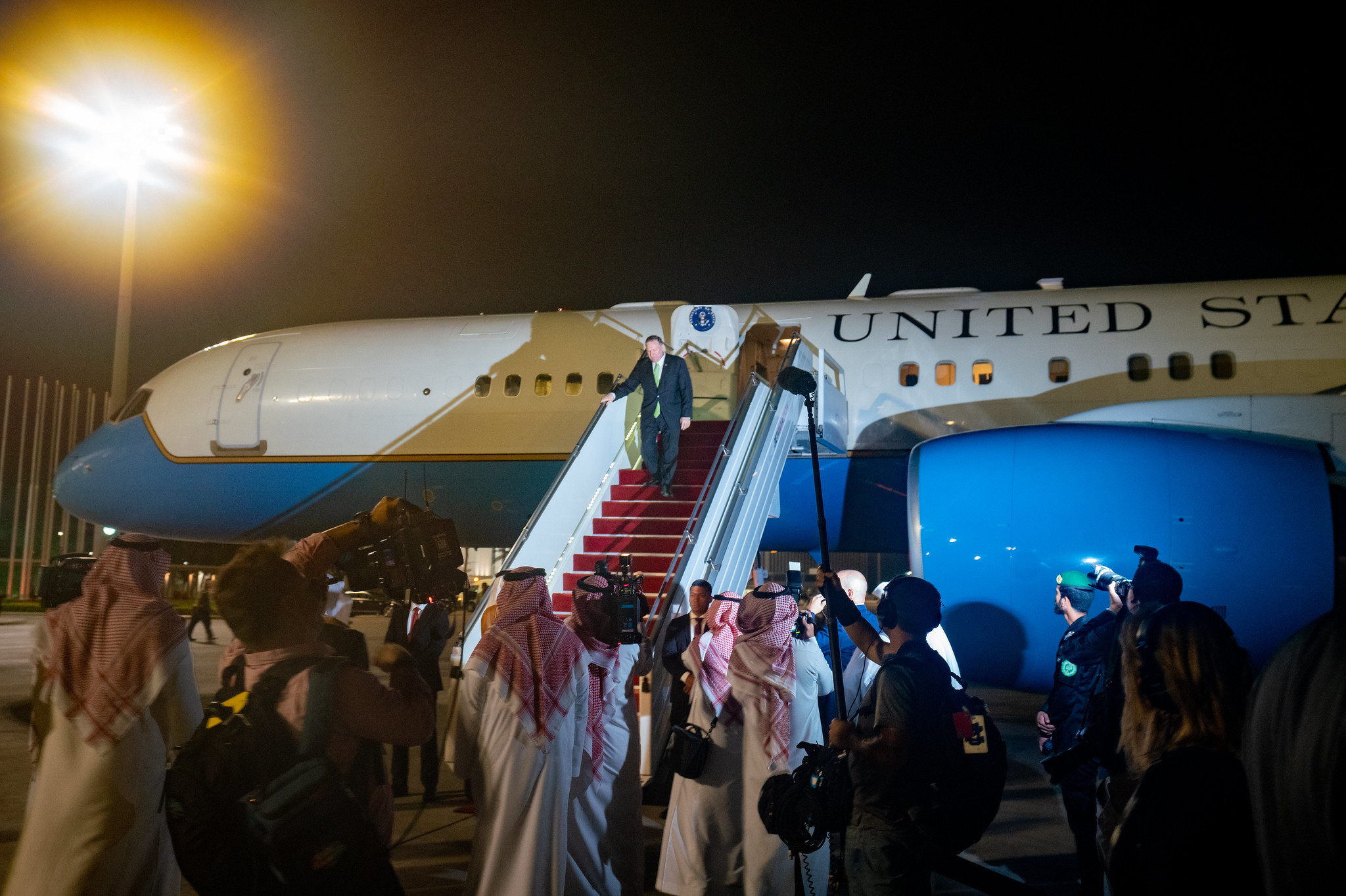 """Air Defense Systems Fail All the Time"": Pompeo's Visit To Saudi Arabia Turned Into Theater Of Absurd"