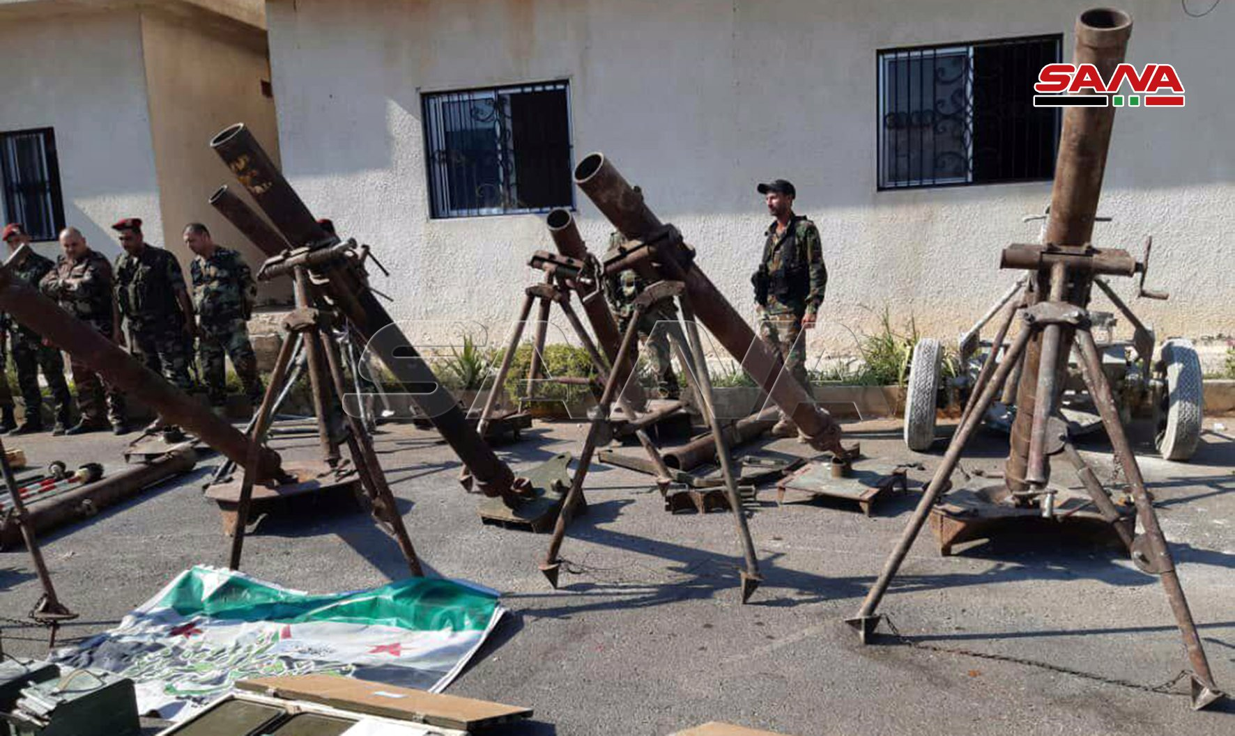 Syrian Army Uncovers Loads Of Weapons In Newly-Captured Northern Hama Town (Photos)