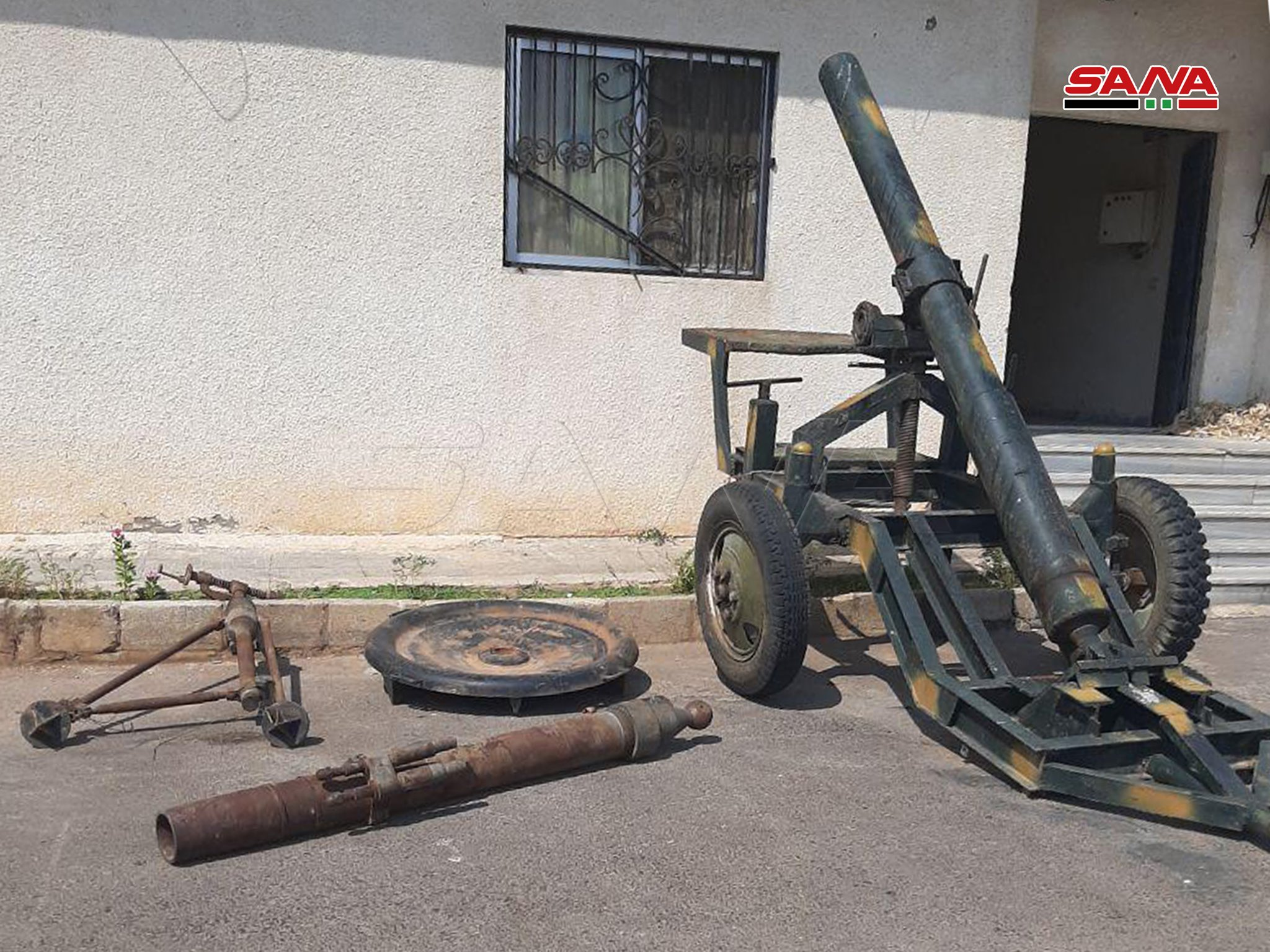 Syrian Army Uncovers Cannons, Ammunition In Newly-Liberated Town In Northern Hama (Video, Photos)