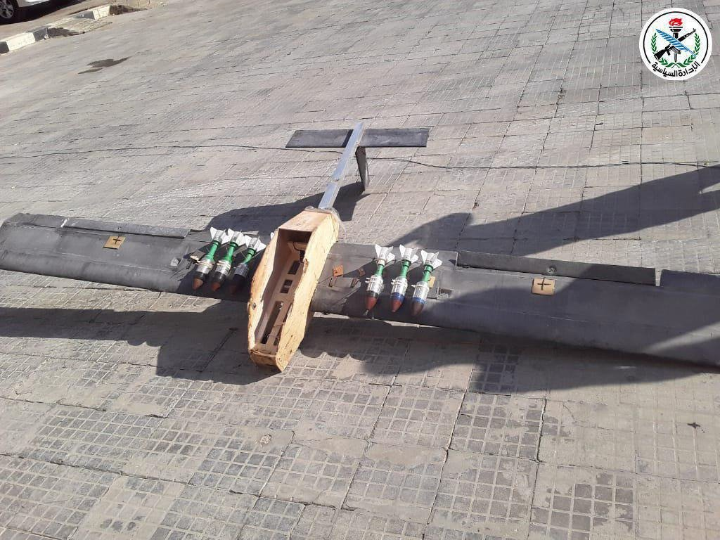 Syrian Air Defense Forces Shoot Down Several Drones Over Northwestern Hama (Photos)