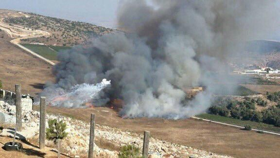Hezbollah Strikes Back, Destroys Israeli Military Vehicle In Upper Galilee