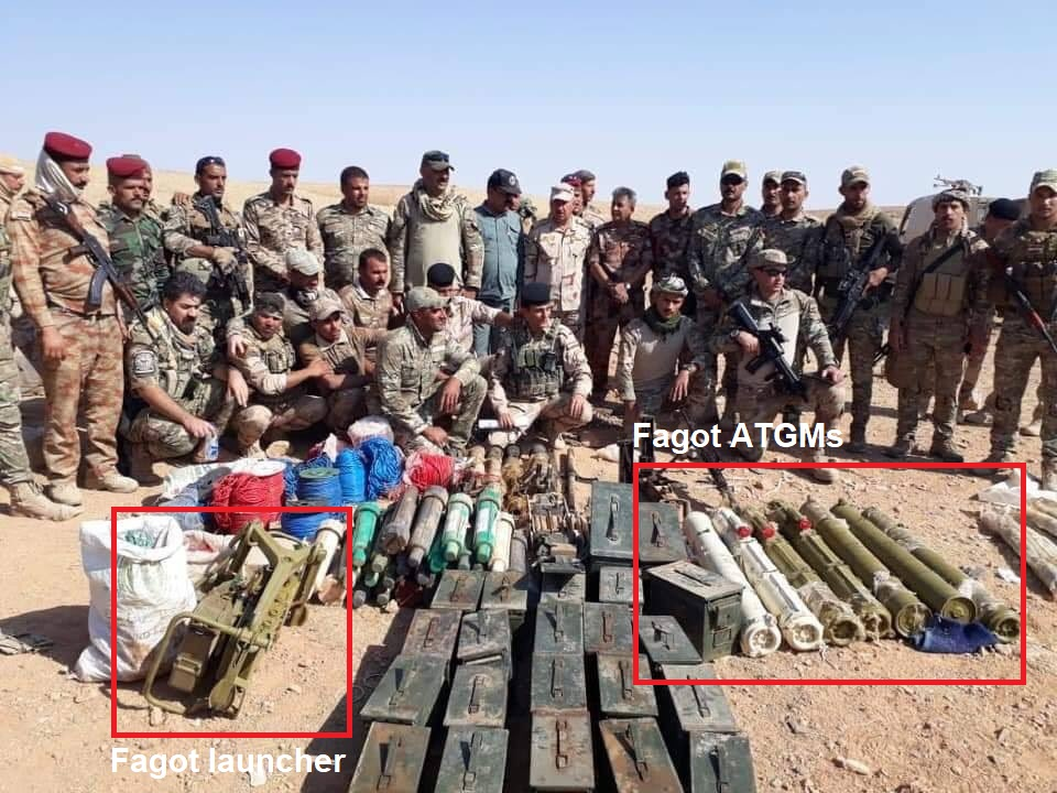Iraqi Government Forces Uncover Guided Missiles During Combing Operation In Al-Anbar (Photos)