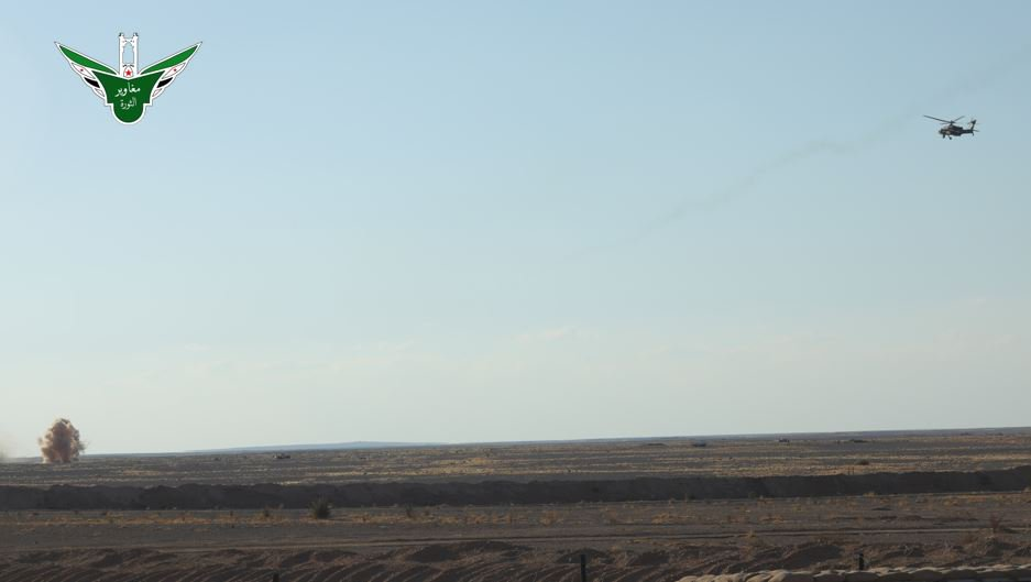 US-led Coalition & Its Proxies Conduct Live Drills In Al-Tanaf (Photos)