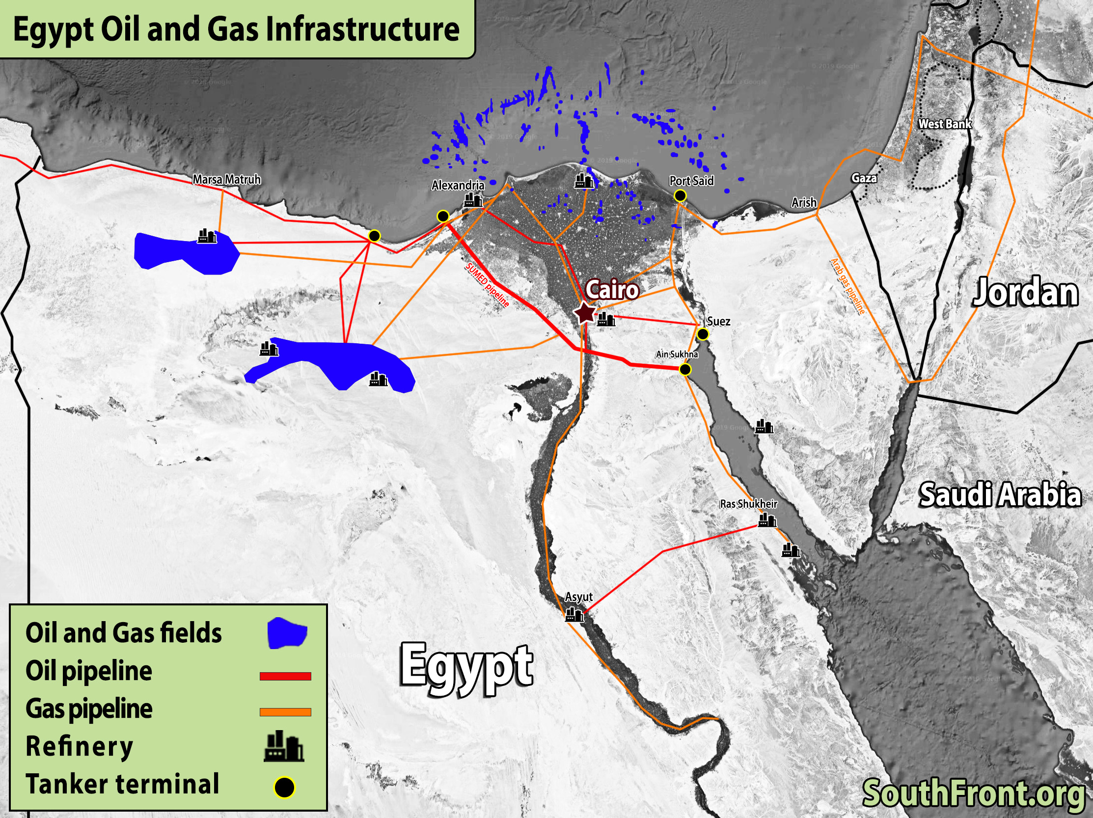 ISIS Targeted Gas Pipeline In Egypt's Northern Sinai Peninsula (Videos)