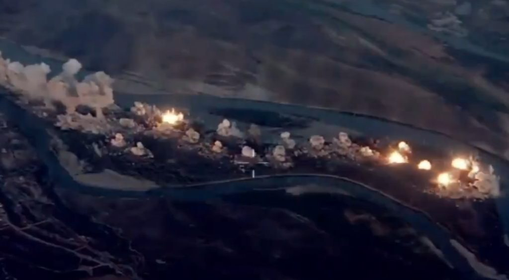In Video: F-35 And F-15 Jets Drop 36,000kg Of Bombs On ISIS Positions In Iraq