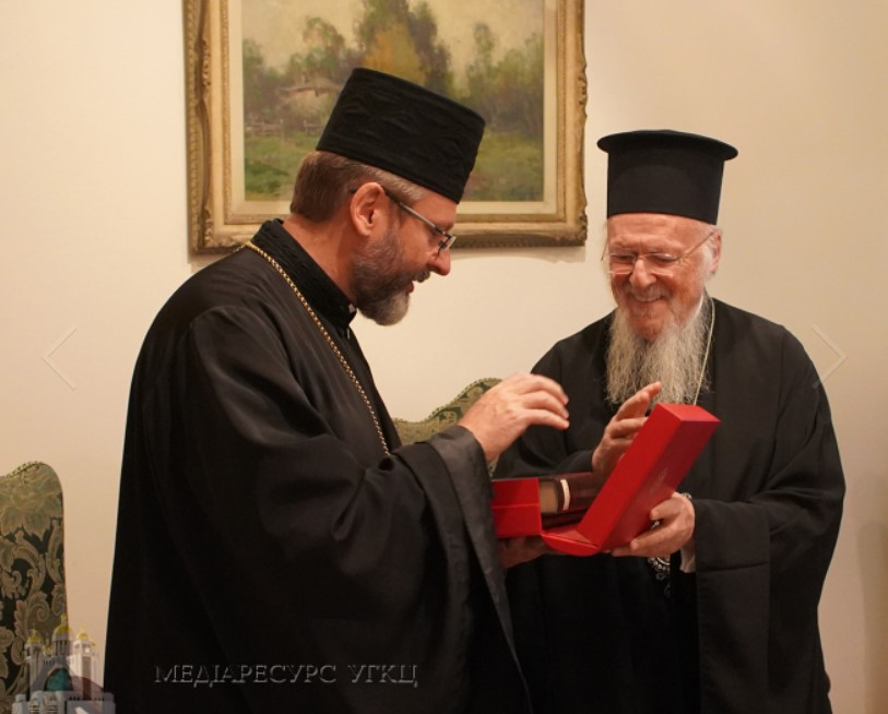 Ecumenical Patriarch Unites Efforts With Greek Catholic Church To Combat Canonic Orthodox Church In Ukraine