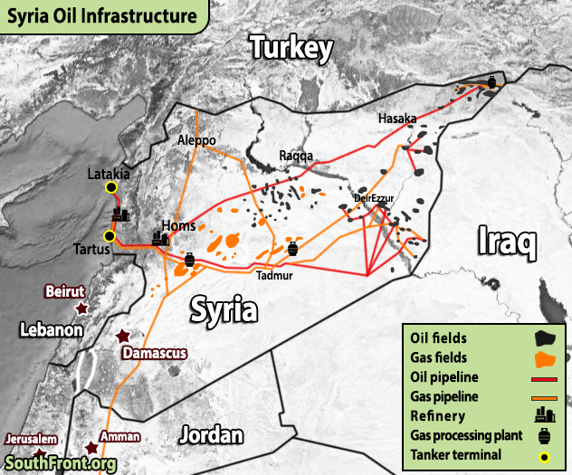 In Maps: Oil And Gas Infrastructure Saudi Arabia, Iran, Qatar, Syria And Iraq