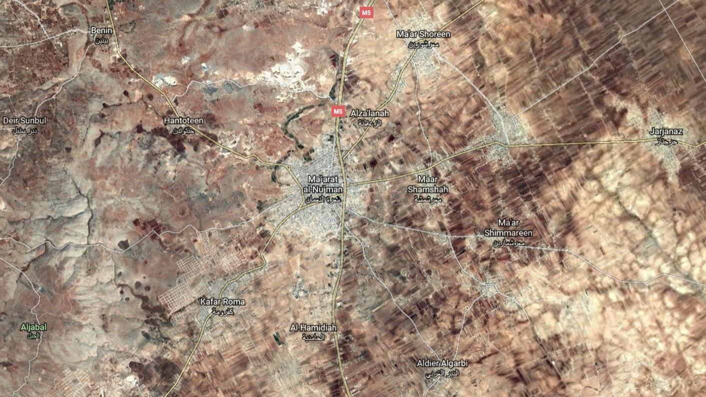 Syrian Army Shells Militant Positions In Ma`arat al-Nu`man With Heavy Rockets