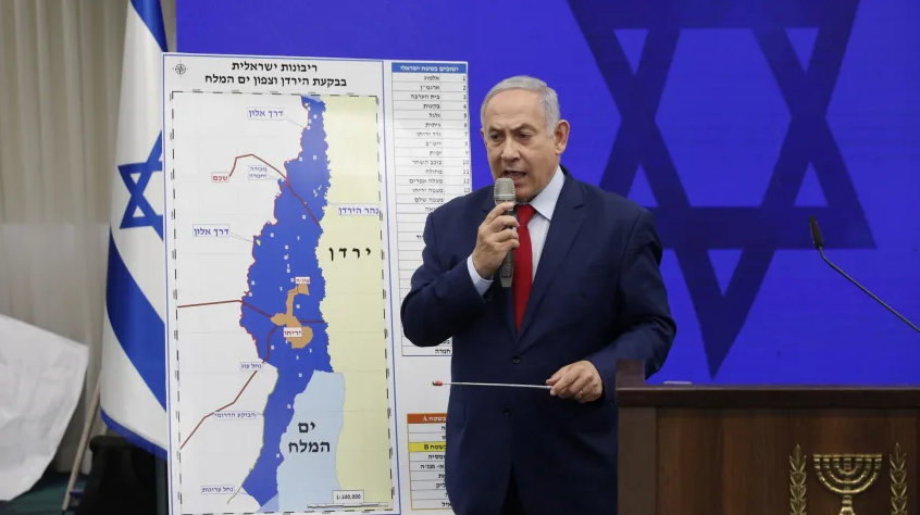Netanyahu's Grand Pre-Election Promises: Annex Jordan Valley and Northern Dead Sea
