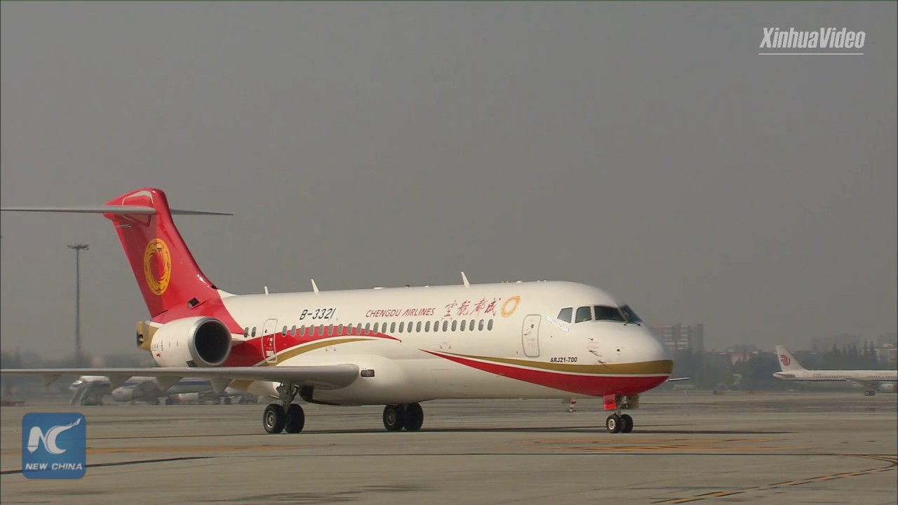 Three Biggest Chinese Airlines Announced Orders For Indigenous ARJ21 Passenger Jet (Infographics)