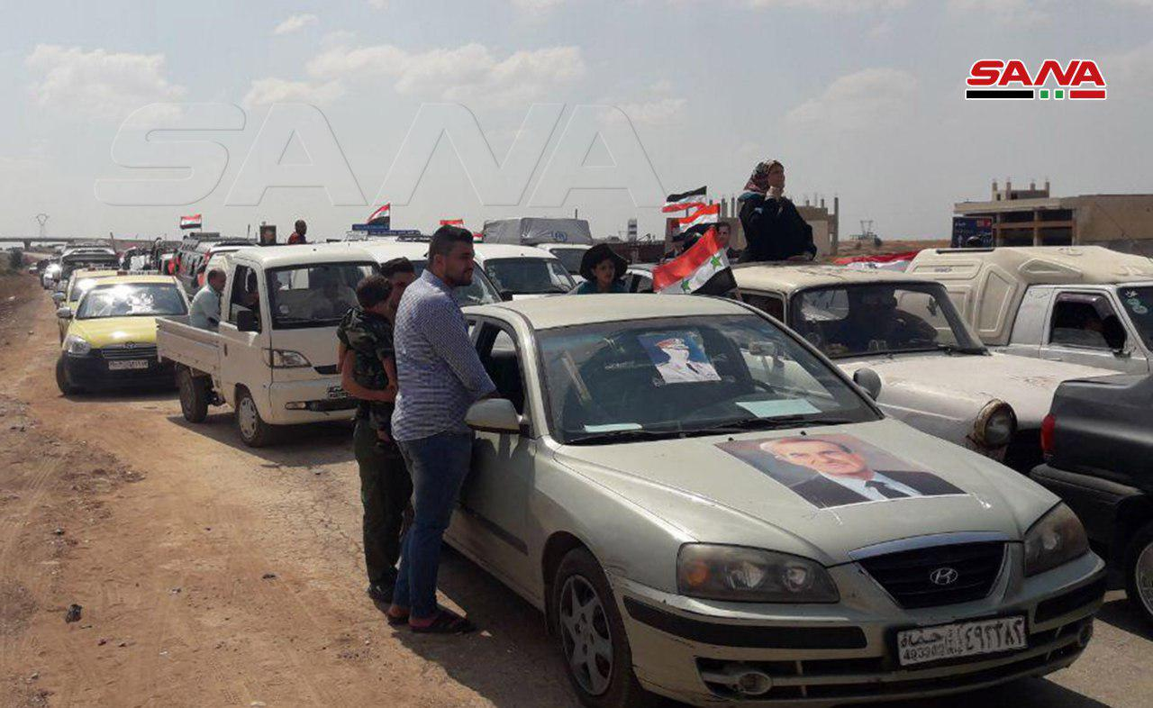 Thousands Of Civilians Return To Liberated Parts Of Northern Hama, Southern Idlib (Photos)
