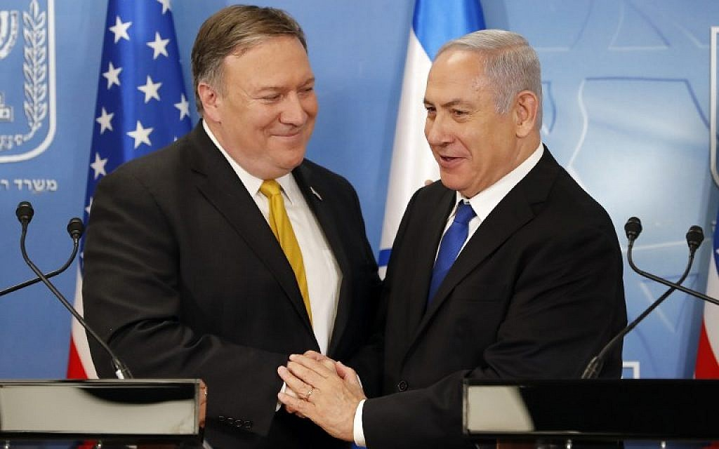 Mike Pompeo: Israel Has Fundamental Right To Bomb Any Place Across Middle East