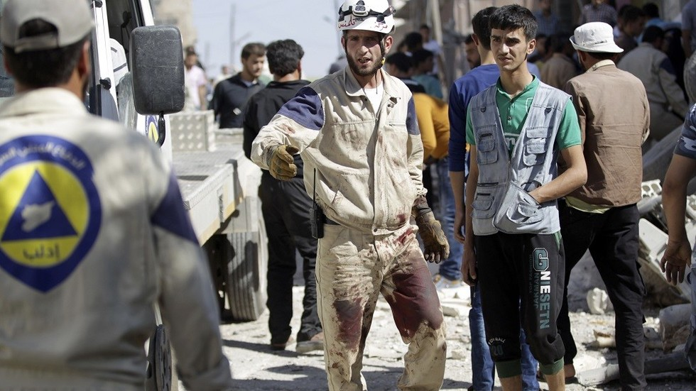 Trump Approves $4.5million In Aid To 'White Helmets' Propaganda Group In Syria