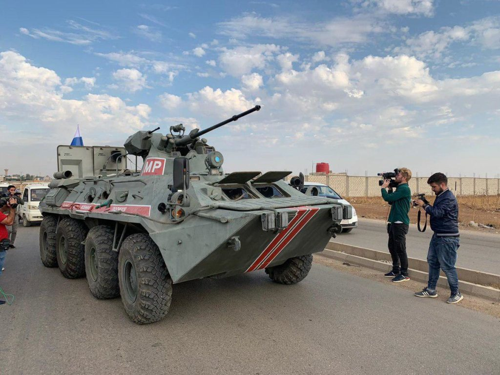 Photos, Videos: Russian Military Police Kicked Off Patrols Around Syria's Qamishly