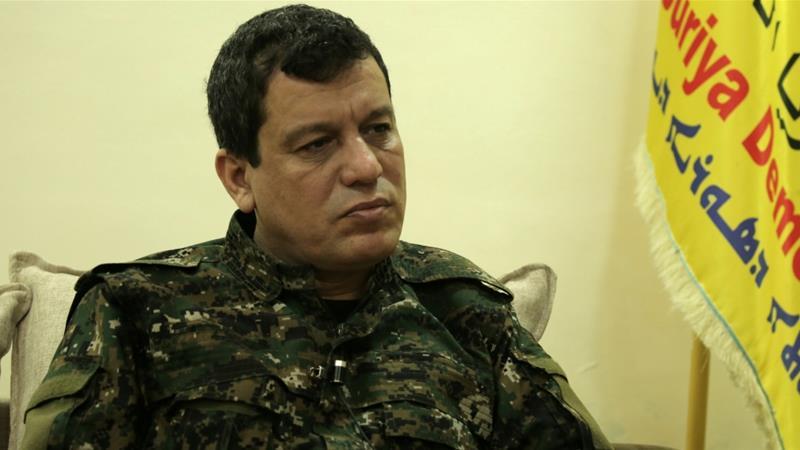 Erdogan Demands U.S. To To Hand Over SDF Commander Mazloum Abdi