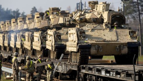 Pentagon Confirms: Tanks & Additional US Forces To Deploy At Syrian Oil Fields