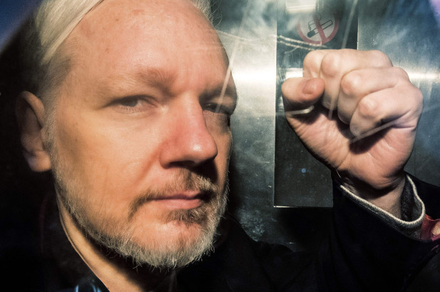 British Government Keeps Journalist Julian Assange In Maximum Security Prison At Behest Of Trump Regime