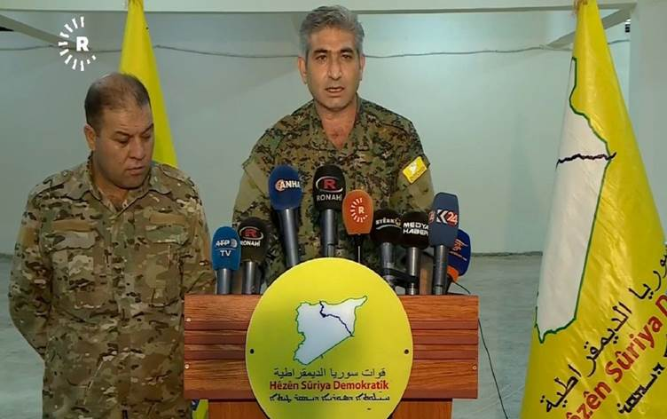 Kurdish-led SDF Cries Foul Over Rapid Turkish Advance In Northern Syria