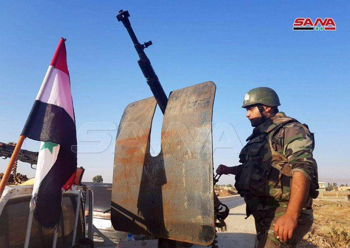 Syrian Army Enters Tabqah Airbase, Other Points In SDF-held Area (Video, Photos)