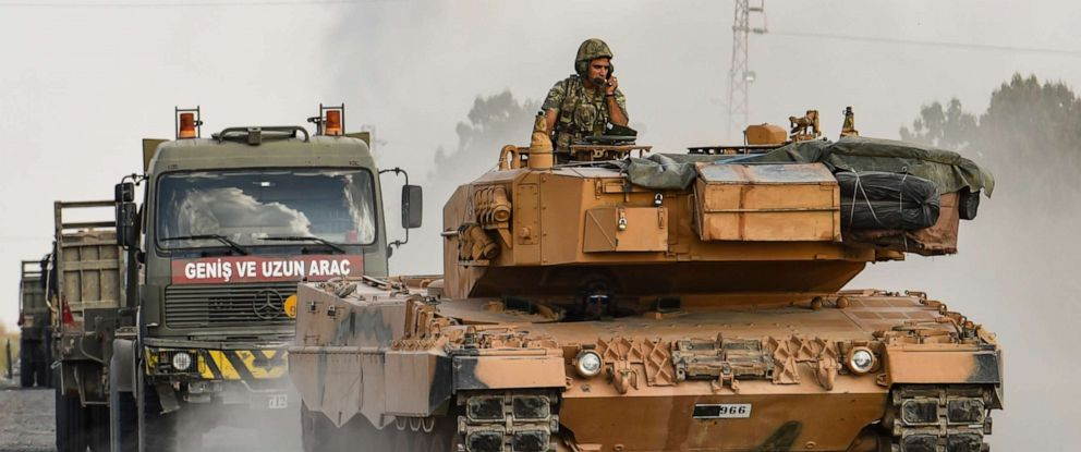 In Video: Turkish Military Convoy Entered Syria, Ran Over Civilian - SOHR