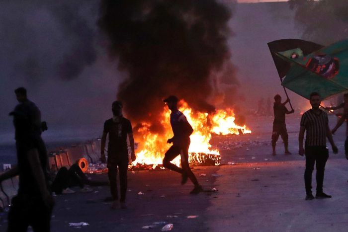 Over 100 Killed In 7 Days Of Violent Riots In Iraq