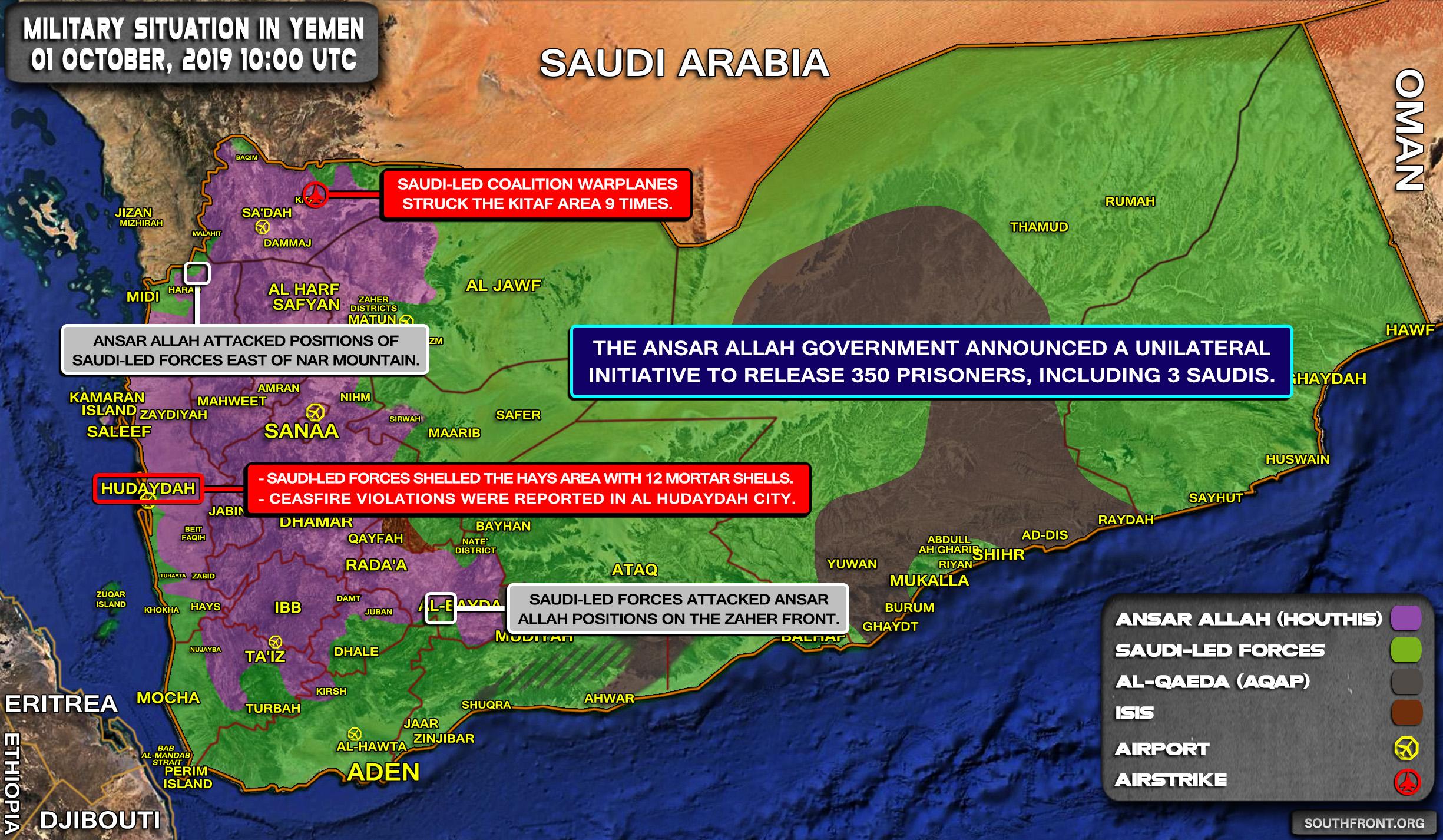 Chiến đấu cơ Saudi xuất kích ồ ạt trả đũa Houthi bắt sống 2000 binh sĩ - Chảo lửa Yemen nóng hầm hập - Ảnh 1.