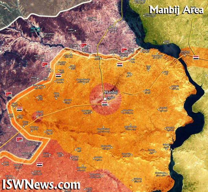 Turkish Forces Push Towards M4 Highway In Area Between Tell Abyad And Ras Al-Ayn (Map Update)