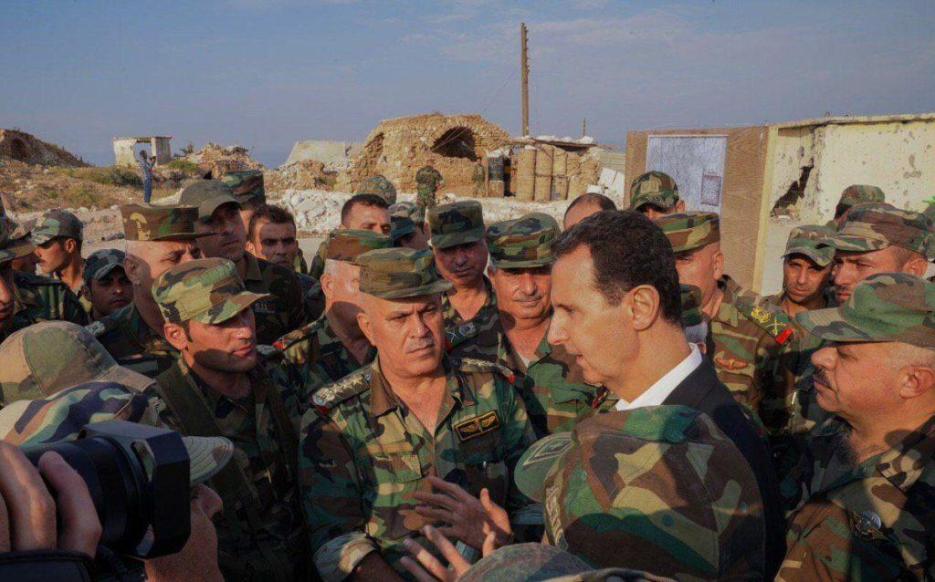 In Photos: Bashar al-Assad Inspects Southern Idlib Frontline