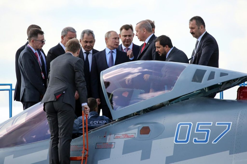 Turkey Close To Purchasing Russian Su-35 Jets After Lockheed Deal Blocked