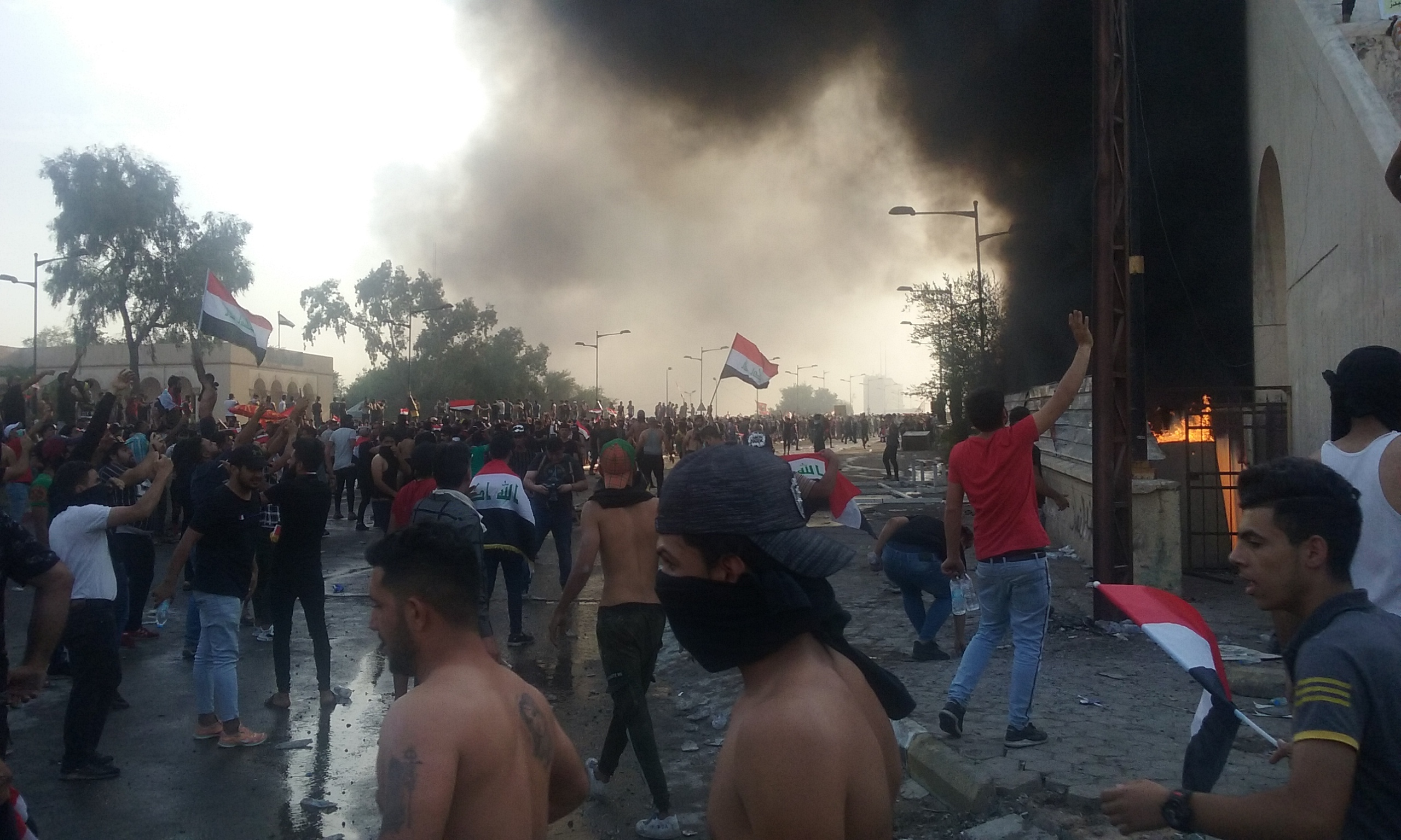 Nine Dead In Protests Against Corruption In Iraq