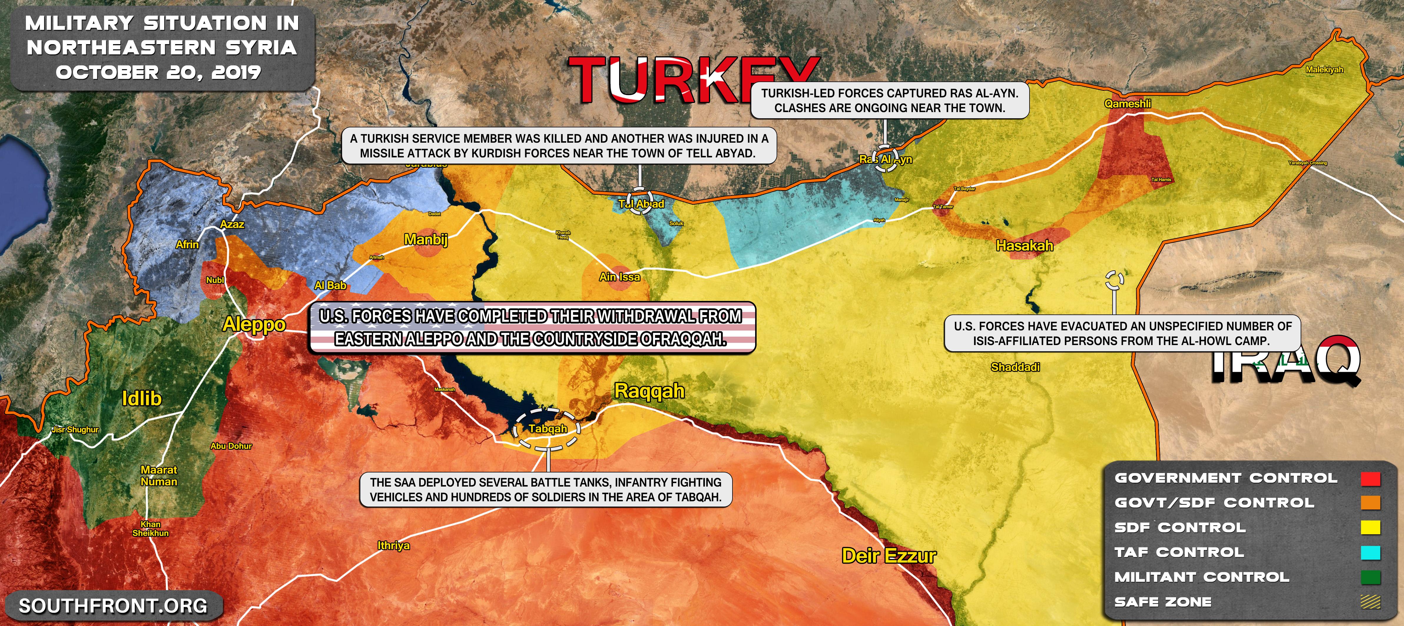 Chiến sự Syria: Bước ngoặt bất ngờ, Thổ Nhĩ Kỳ hóa ra là kẻ thua cuộc - Ảnh 6.