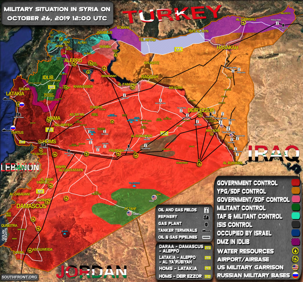 Who Controls What: Syrian Oil And Gas Infrastructure Map