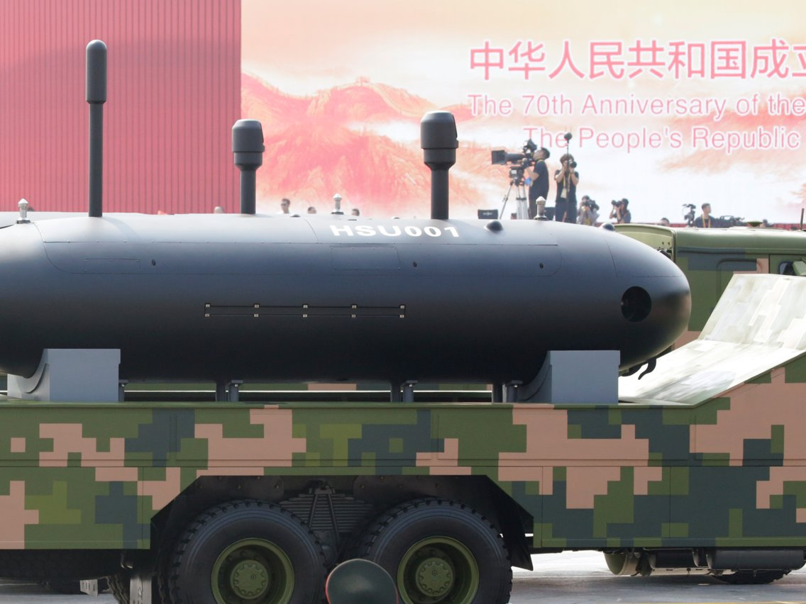 China Unveils Its First Ever Autonomous Underwater Vehicle