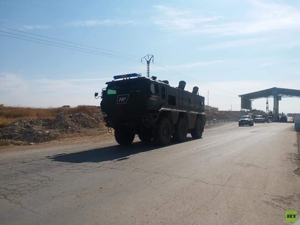 Russian Military Police Enter Kobane To Conduct Patrols Under Agreement With Turkey (Photos)